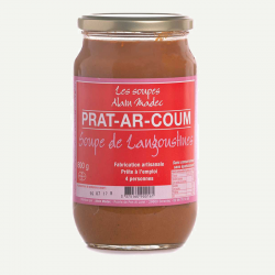 Soupe de langoustines - PRAT AR COUM